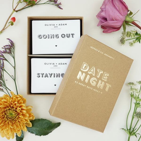 Personalised Date Night Cards