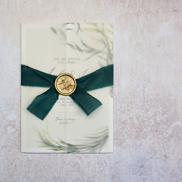 Luxury Wedding Stationery Wrap