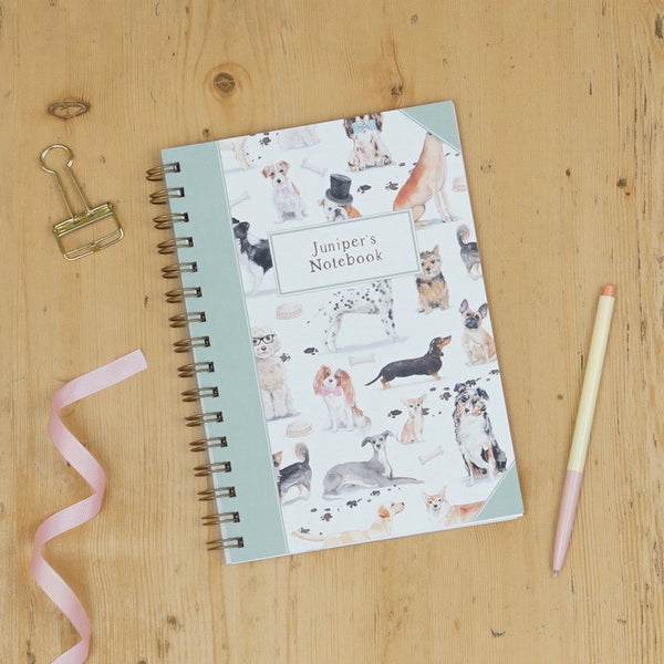 Charity Dapper Dogs Notebook