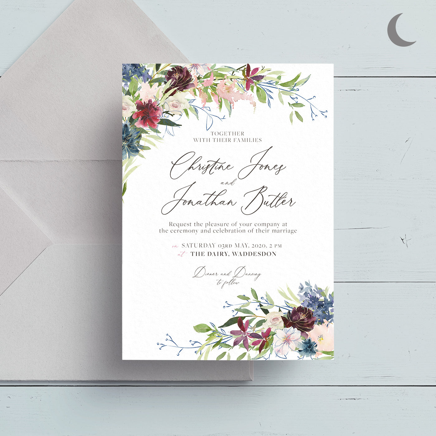 Midsummer Reception  Invite