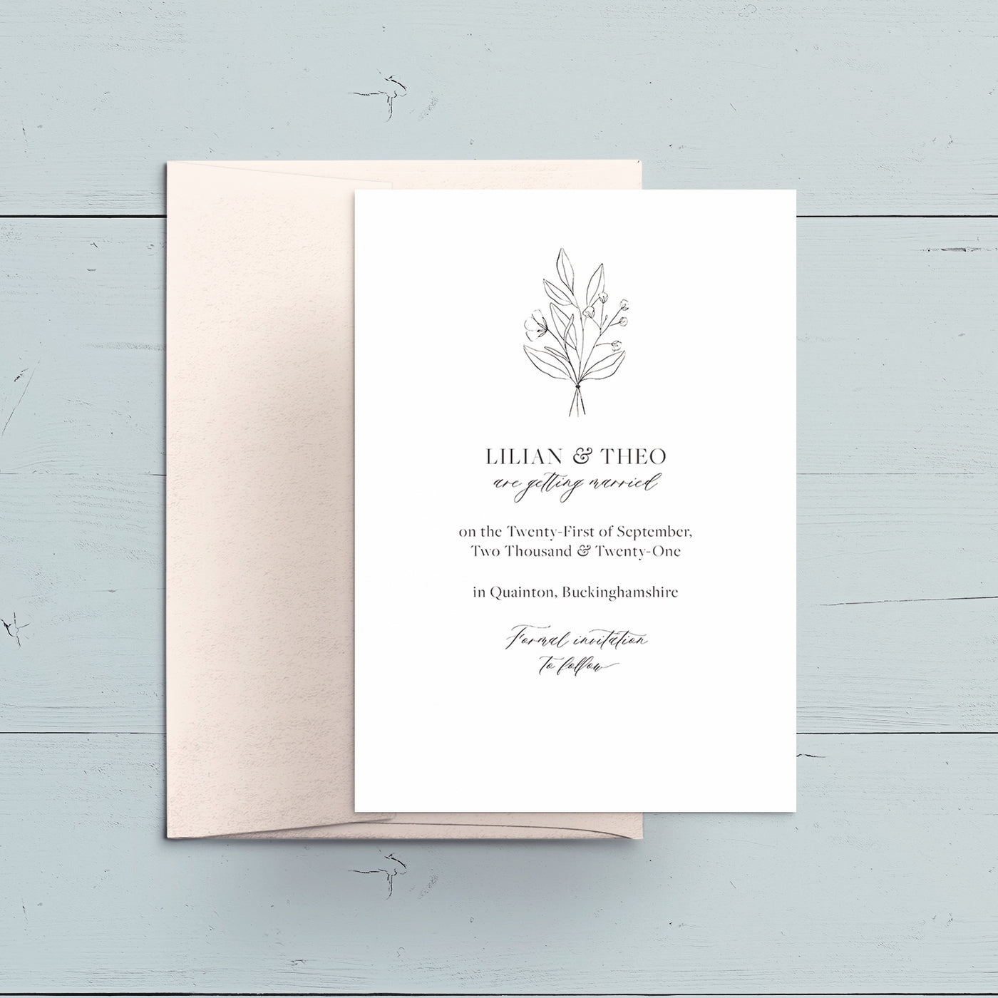 Modern Botanicals Save the Date