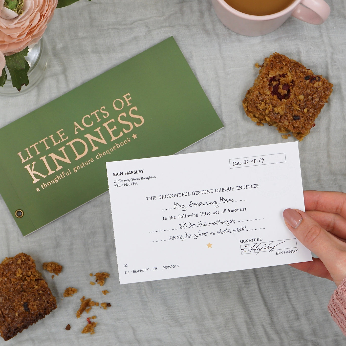 Little Acts of Kindness: A Thoughtful Gesture Chequebook
