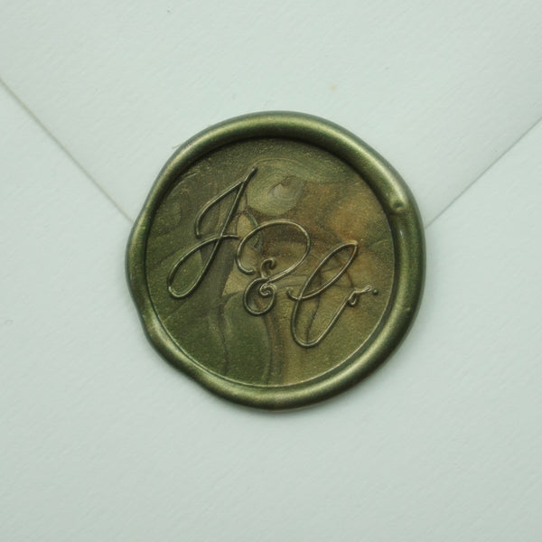 Monogram Wax Stamp + Seal
