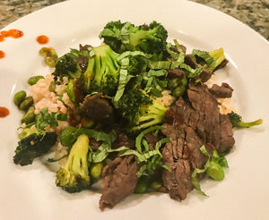 Korean Beef & Broccoli