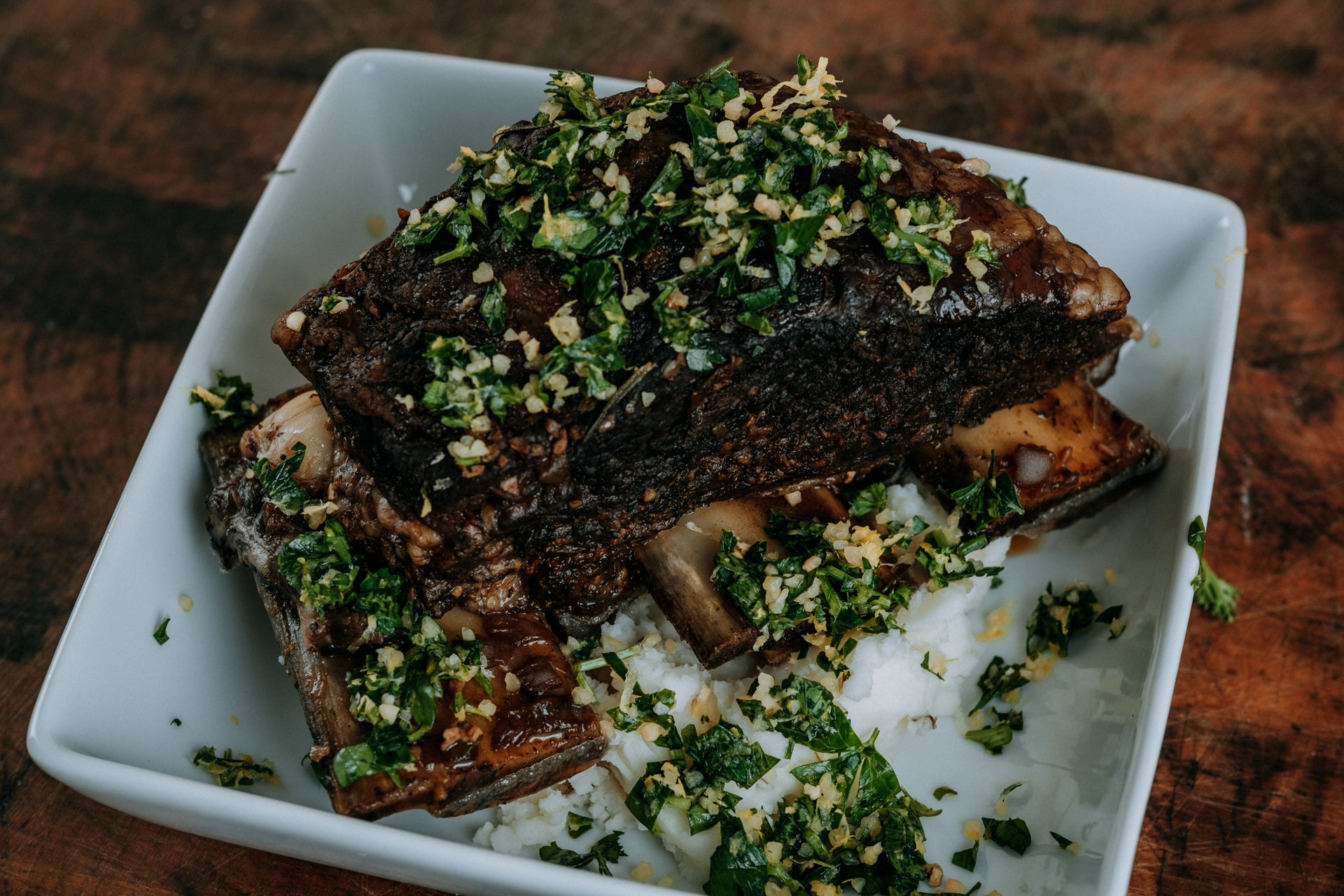 Braised Bone-In Beef Short Ribs