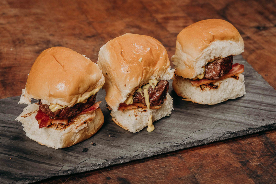 Premium Beef Sliders Add-On -Japanese Wagyu from Raikes Beef in Nebraska