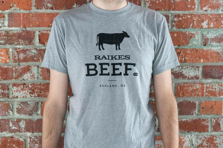 T-Shirt (Adult) -Japanese Wagyu from Raikes Beef in Nebraska