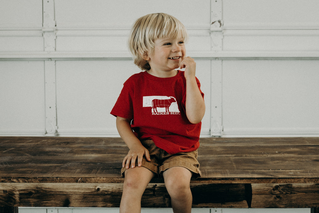Nebraska T-shirt (Infant/Toddler) -Japanese Wagyu from Raikes Beef in Nebraska