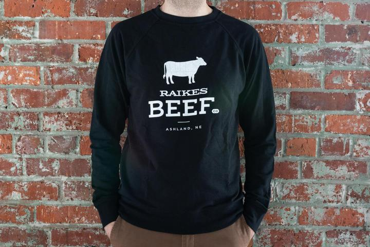 Sweatshirt (Adult) -Japanese Wagyu from Raikes Beef in Nebraska