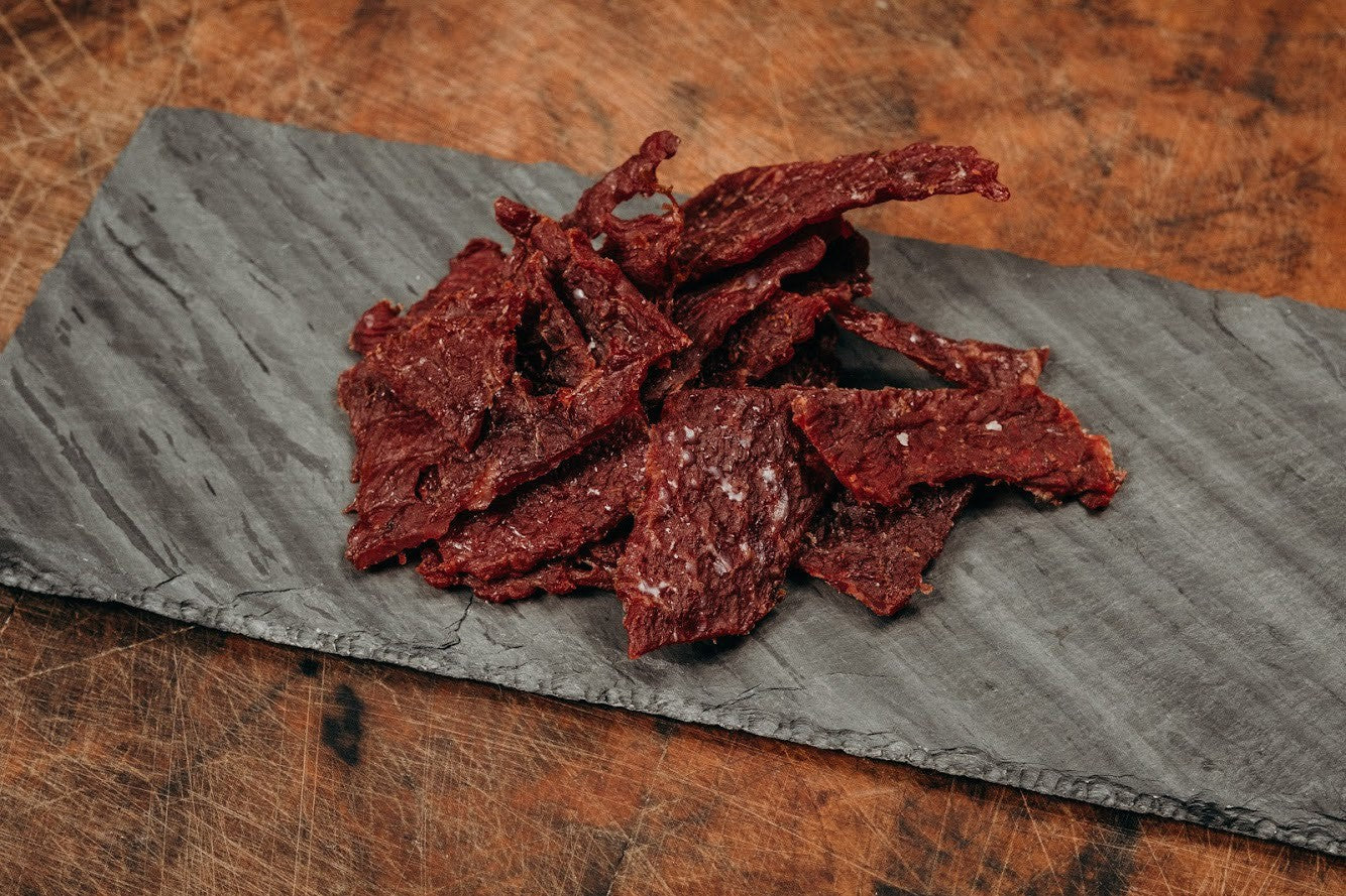 Premium Beef Jerky, Original -Japanese Wagyu from Raikes Beef in Nebraska