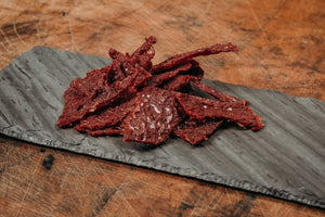 Premium Beef Jerky, Salt & Pepper -Japanese Wagyu from Raikes Beef in Nebraska
