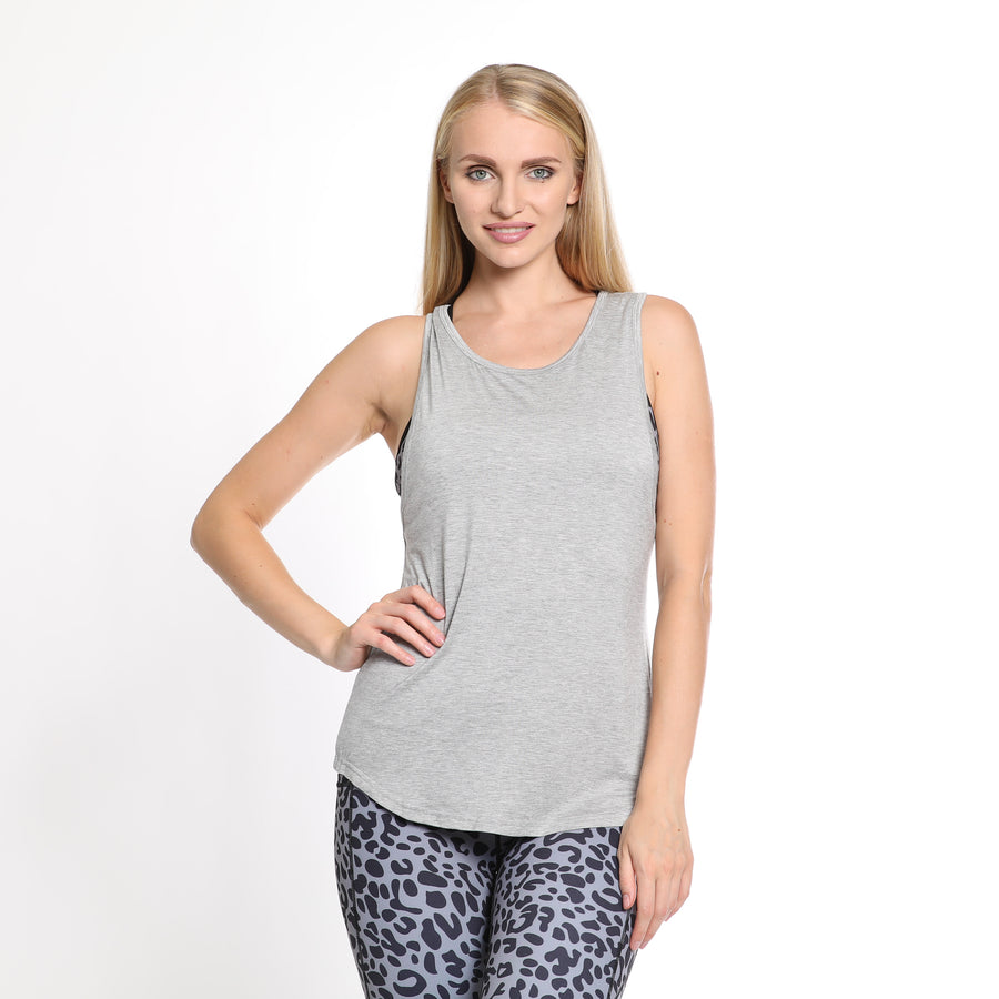 Exhale Braided Nursing Tank - Sweat and Milk LLC