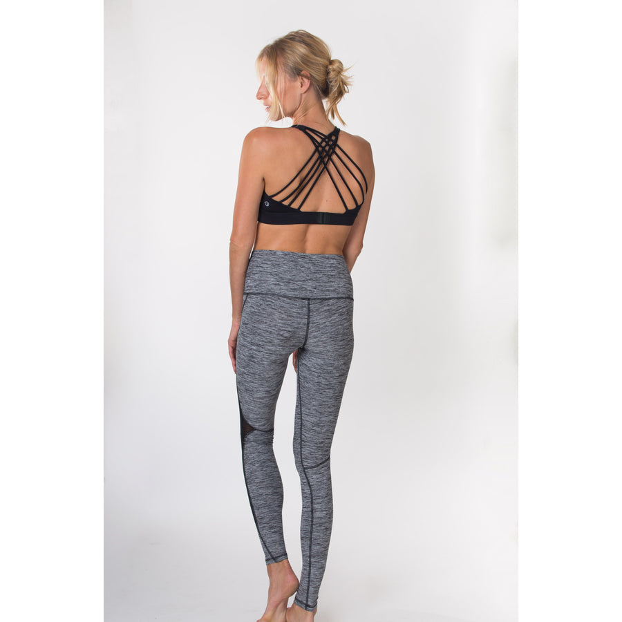 Océane 2 - Yoga Nursing Sports Bralette (Noir) - Sweat and Milk LLC