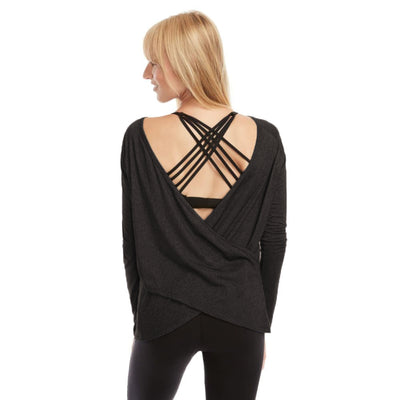 Charlotte Two-Way Nursing Wrap (Jet Black)