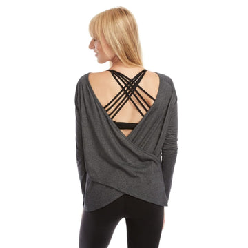 Charlotte Versatile Nursing Wrap (Charcoal) - Sweat and Milk LLC