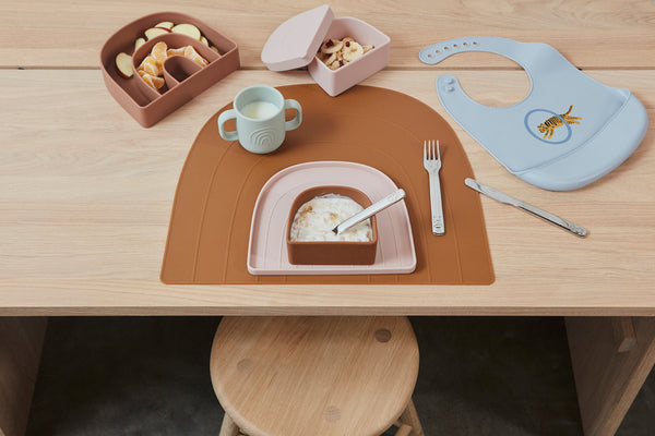 OYOY Living Design - OYOY MINI Rainbow Tallerken & Skål Dining Ware 608 Dusty Blue / Clay