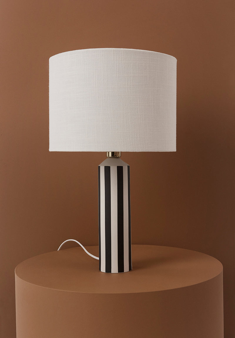 OYOY Living Design - OYOY LIVING Toppu Lampe Table Lamp Råhvid / Antracit
