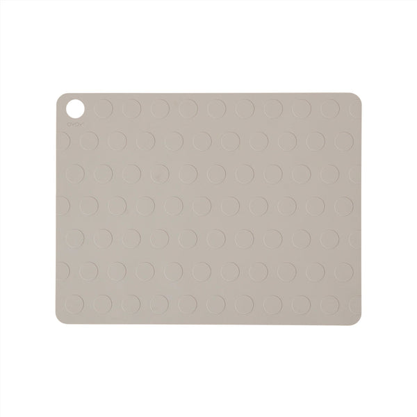 OYOY Living Design - OYOY LIVING Dækkeserviet Dotto - 2 stk Placemat Clay