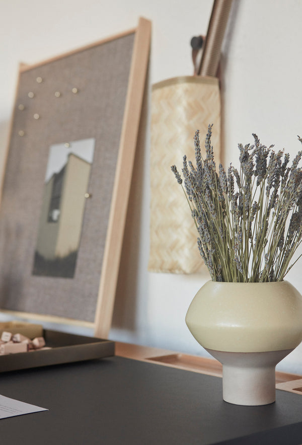 OYOY Living Design - OYOY LIVING Hagi Vase Vase Dusty Lemonade