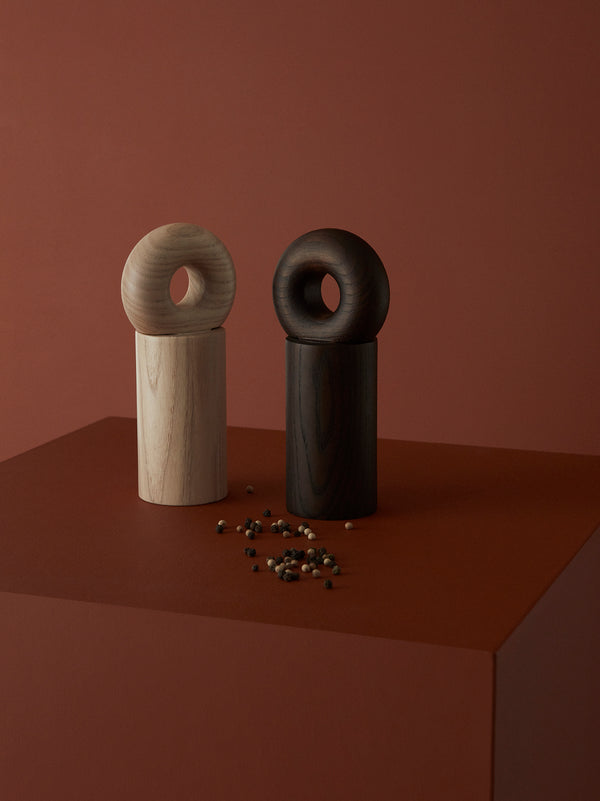 OYOY Living Design - OYOY LIVING Hoop Salt & Peber Kværn Kitchen accessories Mørk