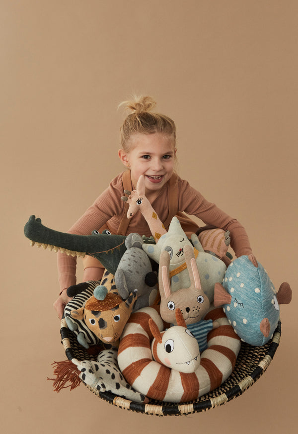 OYOY Living Design - OYOY MINI Little Finn Pude Soft Toys Blå