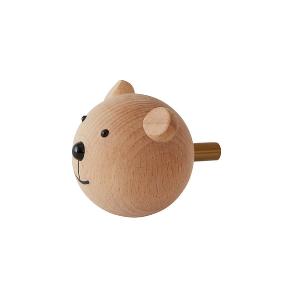 OYOY Living Design - OYOY MINI Mini Knage - Bamse Hook Natur