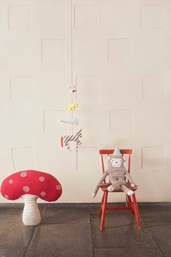 OYOY Living Design - OYOY MINI Mr. Nelsson Pude Soft Toys Lysebrun