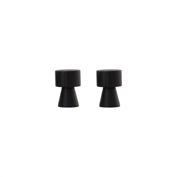 OYOY Living Design - OYOY LIVING Pin Knage - 2 Pcs/Pack Hook Mørk