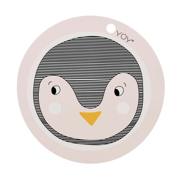 OYOY Living Design - OYOY MINI Penguin Dækkeserviet Placemat Rosa
