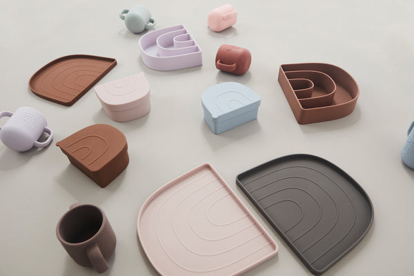 OYOY Living Design - OYOY MINI Rainbow Snack Skål Dining Ware Rosa