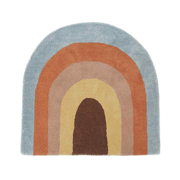 OYOY Living Design - OYOY MINI Rainbow Gulvtæppe Rug Multi