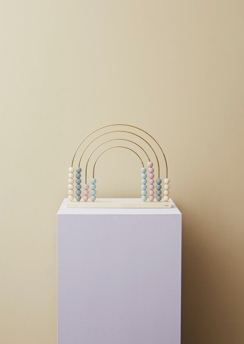 OYOY Living Design - OYOY MINI Rainbow Kugleramme Wooden Toy Natur