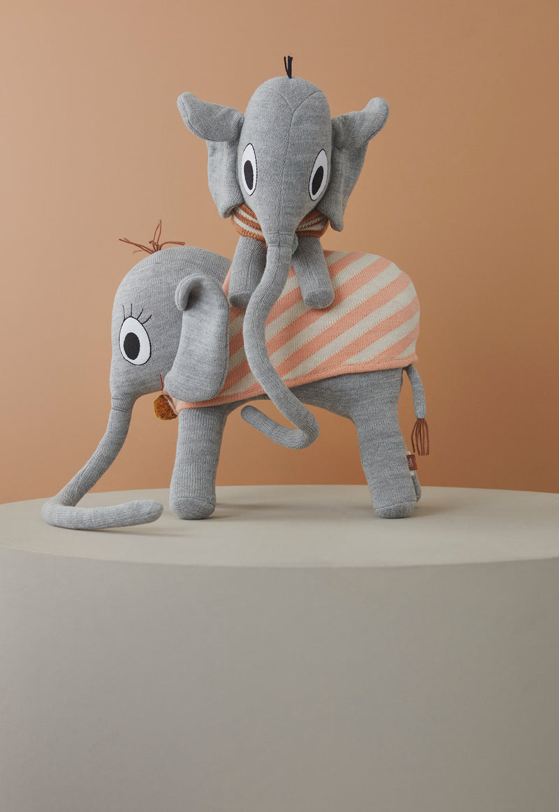 OYOY Living Design - OYOY MINI Ramboline Elefant Soft Toys Grå