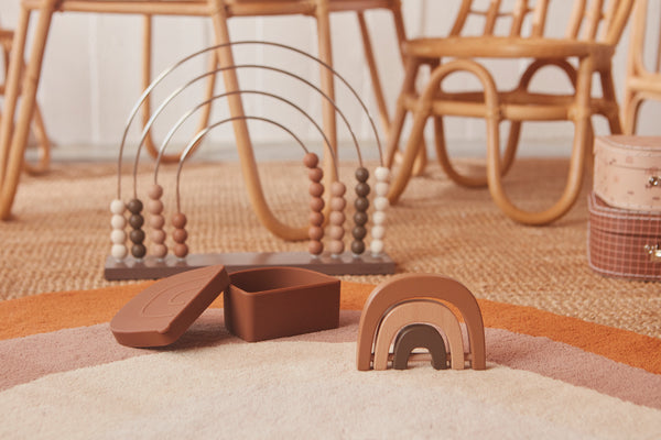 OYOY Living Design - OYOY MINI Rangle Regnbue Wooden Toy Natur