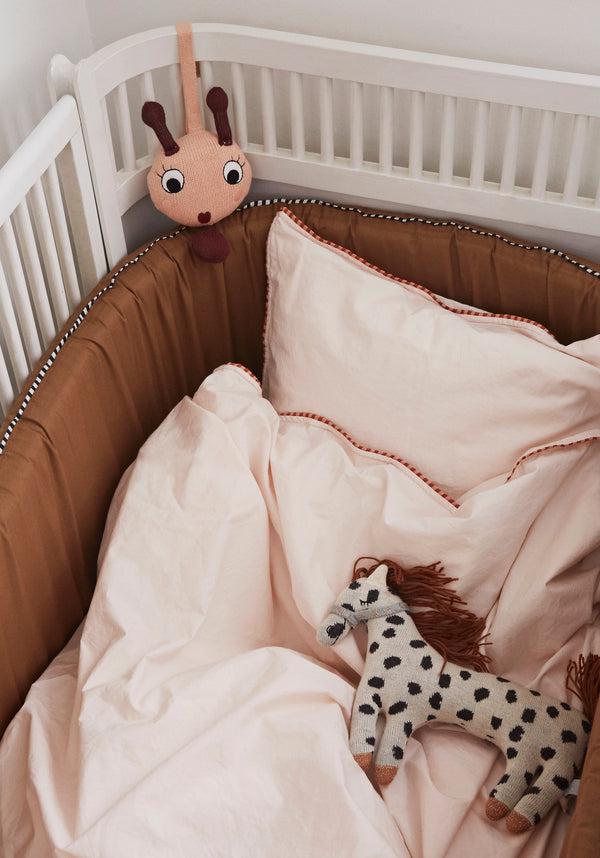 OYOY Living Design - OYOY MINI Darling Pude - Lille Pelle Pony Soft Toys Råhvid / Sort