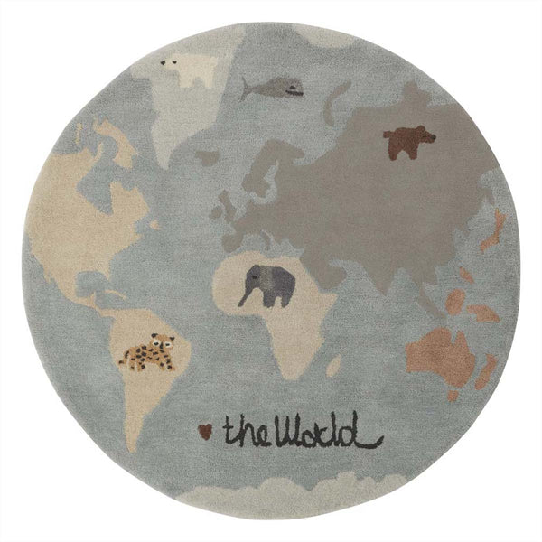 OYOY Living Design - OYOY MINI World Tæppe Rug Multi