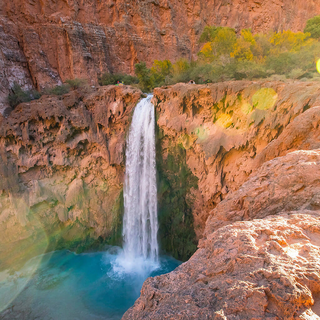 havasupai water fall