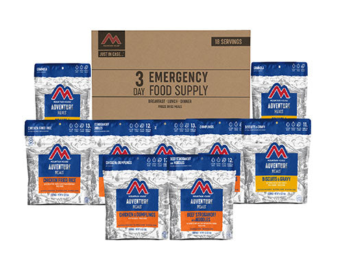 3-Day Emergency Food Supply Kit by Mountain House