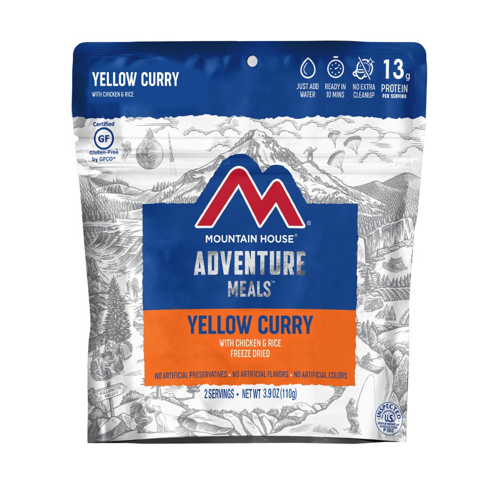 Yellow Curry with Chicken & Rice - Pouch