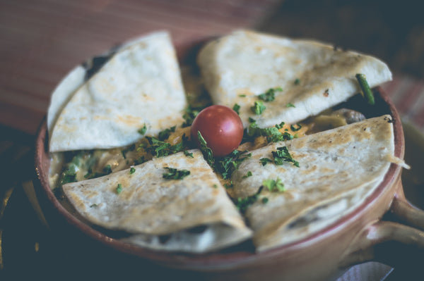 cilantro chicken quesadillas