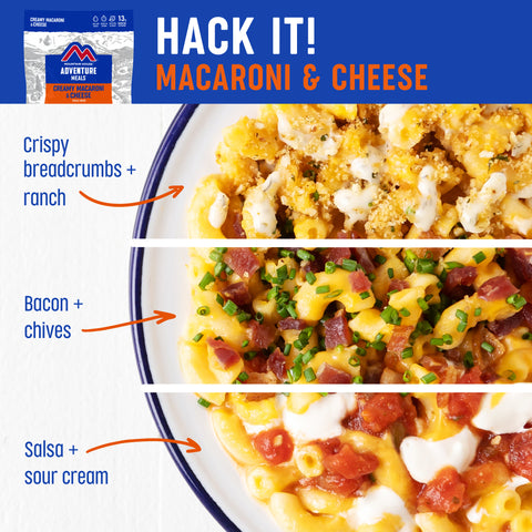 Mountain House Hack for Mac and Cheese
