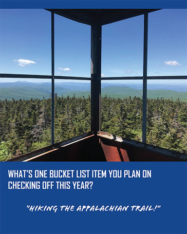 Retha Charette's bucket list item to check off this year