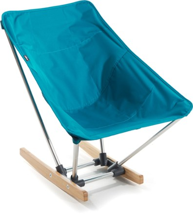 teal colored campfire rocking chair