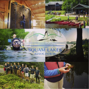 collage of activities at squam lakes association