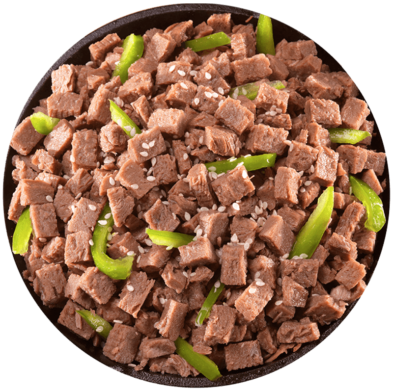Diced Beef - #10 Can