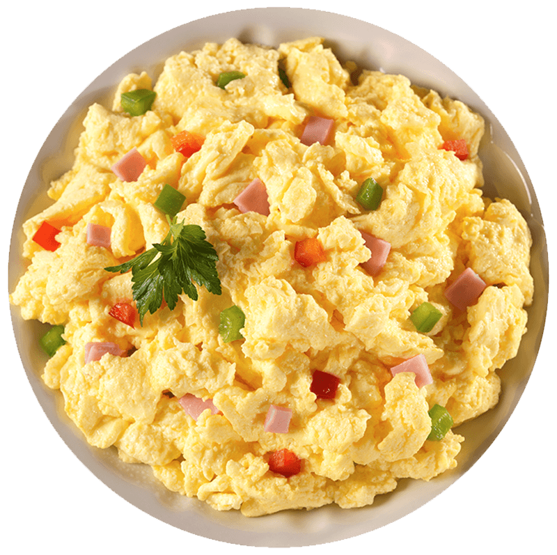 Scrambled Eggs with Ham & Peppers - Pouch