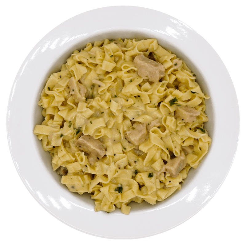 Fettuccine Alfredo with Chicken - Pouch