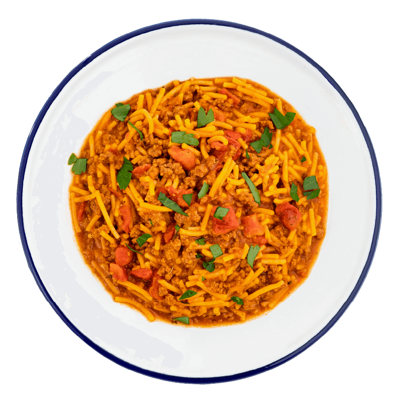 Classic Spaghetti with Meat Sauce - #10 Can