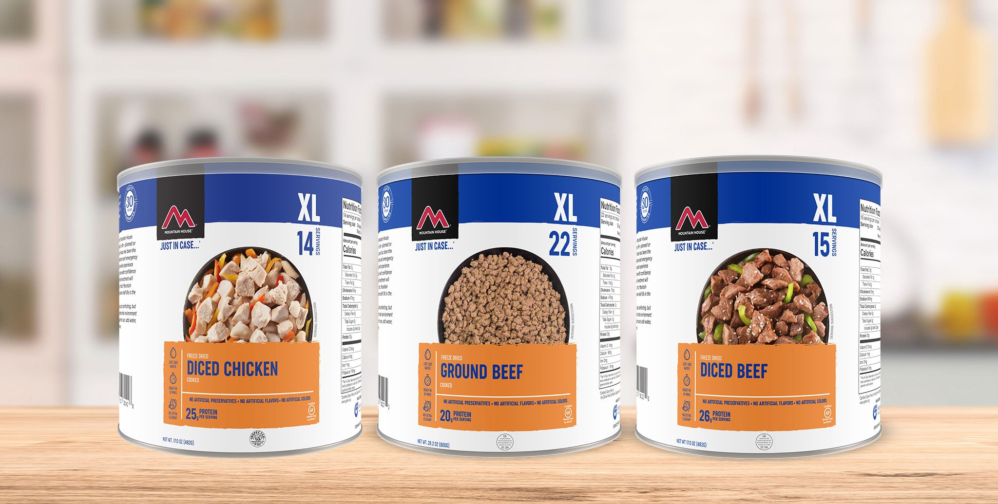 Freeze Dried Proteins/Meats