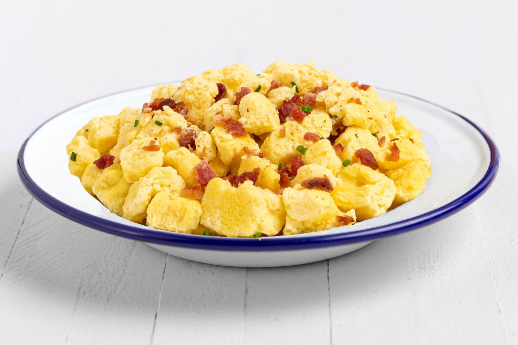 Scrambled Eggs with Bacon - #10 Can